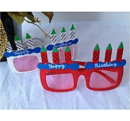 Candle Shape Glasses for Party/Fans(Random Color)