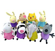 Peppa Pig Baby Pepe George Friends Stuffed Toy Plush Doll (8pcs/lot)