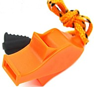 Survival Whistle Whistle / Survival / Emergency Hiking ABS Green / Black / Orange