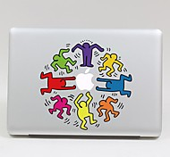 SKINAT Removable beautiful lovely many small Boys tablet sticker and laptop computer for macbook Pro 13,Air 13,260x270mm