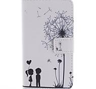The Dandelion Lover Design PU Leather Full Body Case with Screen Protector, Stylus and Stand for LG G2