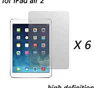 [6-Pack] Premium High Definition Clear Screen Protectors for iPad air 2