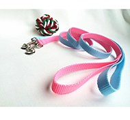 Cat / Dog Leashes Waterproof Blue / Pink Nylon
