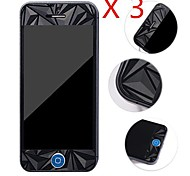 3D Diamond Front + Back  Screen Protector for iPhone 5/5S (3 PCS)