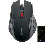 SVO G520 Creative Luminous Game Wired Optical Mouse DPI1000