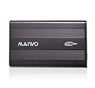 "MAIWO 2.5"" USB 2.0 SATA HDD Enclosure Hard Drive Case Black"