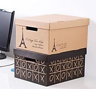 Green Foldable Desktop Shoe Paper Storage Boxes K1747