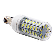 E14 12 W 56 SMD 5730 1200 LM Natural White Corn Bulbs AC 220-240 V