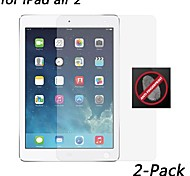 [2-Pack] HD Anti-Fingerprint Resistant Screen Protector for iPad air 2