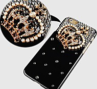 Crystal Diamond Crown Pattern Hard Back Case for iPhone 6