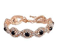 Women's Gold/Silver Plated Austrian Crystal Bracelets