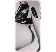 Black Lip Design Hard Case for iPhone 6 Plus