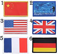 bandeira nacional remendo braço logotipo