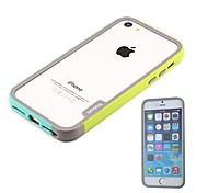 New Arrival Luxury Double Color Soft Silicone Bumper Frame for iPhone 5/5S(Assorted Colors)