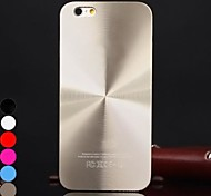 DF® Solid Color  Helix Brushed Aluminium Case Cover for iPhone 4/4S(Assorted Colors)