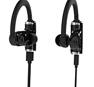 ROMAN S530 Sport Bluetooth V4.0 Single / Double Earhook Headset Microphone