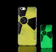 Nuclear radiation Pattern Glow in the Dark Hard Case for iPhone 6