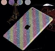 glänzende Diamant-Pulver Design Ganzkörper-Schutzfolie für iPad Luft (farblich sortiert)