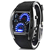 Personalized Father's Day Gift Fashionable Men's Watch Sports Speedometer Style LED Digital