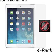 [4-pack] hd anti-huella digital protector de pantalla resistente para el mini iPad 3