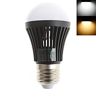 Zweihnder E26/E27 3 W 10 SMD 2835 280 LM Warm White/Cool White G Decorative Globe Bulbs AC 220-240 V