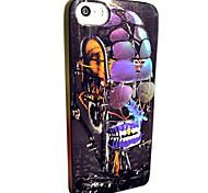 toophone® Joyland caso in polvere istantaneo tpu modellismo meccanico robot morbido posteriore per iPhone 5 / 5s