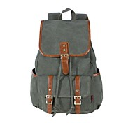 KAUKKO Multifunction Backpack Canvas Package Leisure Bag