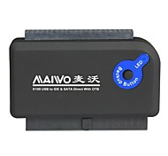 "maiwo k100u2is usb 2.0 HDD Adapter mit Supergeschwindigkeit 2,5 ""/ 3,5"" SATA / IDE"