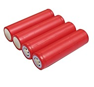 3.7V 2600mAh 18650 Rechargeable Lithium Ion Battery(4pcs)