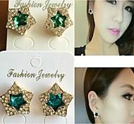 Love Is You A Star Fashion Stud Earrings