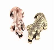 criativa crocodilo de metal isqueiros bronze
