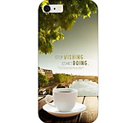 Coffee Pattern Back Case for iPhone 6