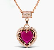 Couples'/Women's Gold NecklaceAnniversary/Wedding/Engagement/Birthday/Gift/Party/Daily/N/A/Special Occasion/Causal/Office &