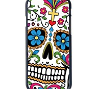 Doopootoo™ Colorful Floral Skull Painted Pattern Slim Plastic Back Hard Case Cover For iPhone 6 Plus 5.5""