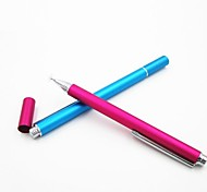 capacitivo stylus tela de toque para o ipad e iphone (cores sortidas)