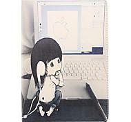jugar el cuero de la PU caso de cuerpo completo modelo de ordenador para Mini iPad 1/2/3