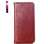 Genuine Leather Wallet Leather Case  for iPhone 6 (Assorted Colors)