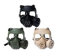 sistema de ventilador turbo anti nevoeiro airsoft protetor facial completo wargame máscara de paintball