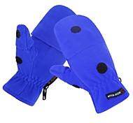 Glove Cycling / Bike Men's Full-finger Gloves Keep Warm / Breathable / Windproof / Anti-skidding Autumn / WinterRed / Gray / Black / Blue