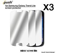 protetor de alta transparência espelho lcd de tela para Samsung Lite tendência galáxia s7390 (3 peças)