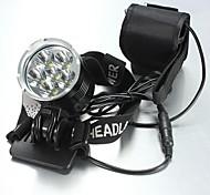 Iluminación Linternas de Cabeza LED 8400 Lumens 5 Modo Cree XM-L T6 18650.0 A Prueba de Agua / RecargableCamping/Senderismo/Cuevas / De