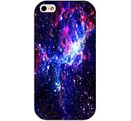 Retour motif galaxie cas pour iPhone 4 / 4S