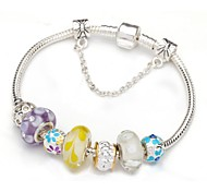 Multicolor Charm Bracelet for Valentine and Christmas Gift