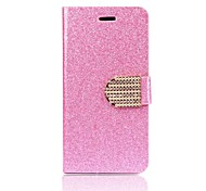 Luxury Glitter Flip Leather Case Cover for iPhone 6