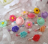 Hair Accessories for Dogs Green / Blue / Pink / Yellow / Purple / Orange Spring/Fall Plastic