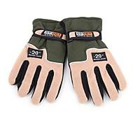 Full-finger Gloves / Winter Gloves Men's Keep Warm Ski & Snowboard / Cycling/Bike Green Wool