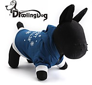 DroolingDog® Cool JUST Pattern 100% Cotton Hooded T-shirt for Dogs (Assorted Sizes)