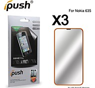High Transparency Mirror LCD Screen Protector for Nokia 635 (3 Pieces)