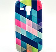 Diamond Pattern Soft Case for Samsung Galaxy Trend Duos S7562