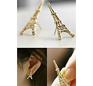 Love Is Your Paris Eiffel Tower Stud Earrings
